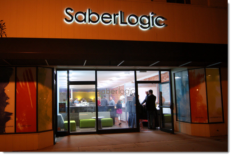 SaberLogic - 10 Year - Front of Building