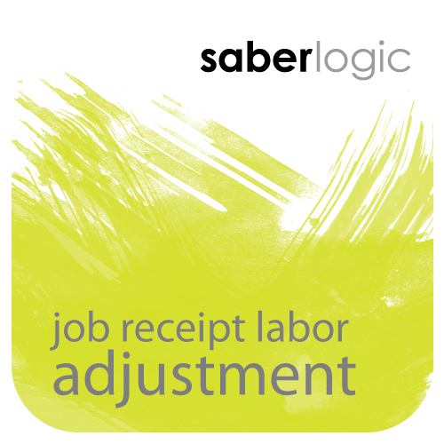 Job Receipt Labor Adjustment for Epicor ERP - SaberLogic