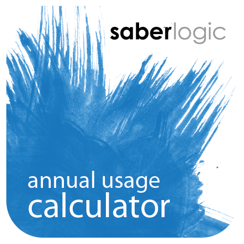 Annual Usage Calculator for Infor VISUAL ERP by SaberLogic