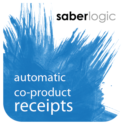 Automatic Co-Product Receipts for Infor VISUAL ERP by SaberLogic