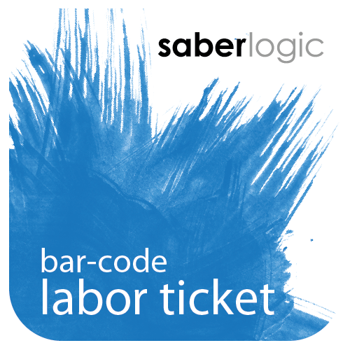 Bar Coded Labor Ticket Entry for Infor VISUAL ERP - SaberLogic