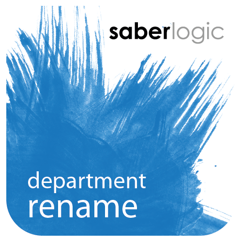 Department Rename Utility for Infor VISUAL ERP - SaberLogic