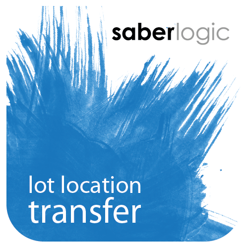 Lot Location Transfer Screen for Infor VISUAL ERP by SaberLogic