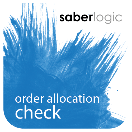 Order Allocation Check Utility by SaberLogic for Infor VISUAL ERP