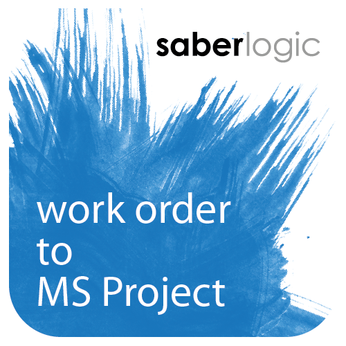 Work Order to Microsoft Project Exporter for Infor VISUAL ERP by SaberLogic