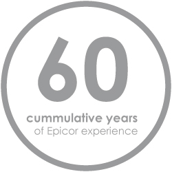 SaberLogic has 60 cumulative years of Epicor ERP experience