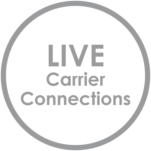 Live connections to ltl carriers for quotes