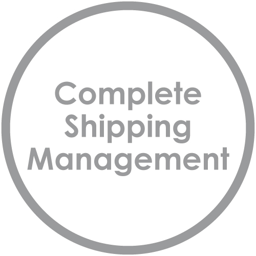 Complete shipping management
